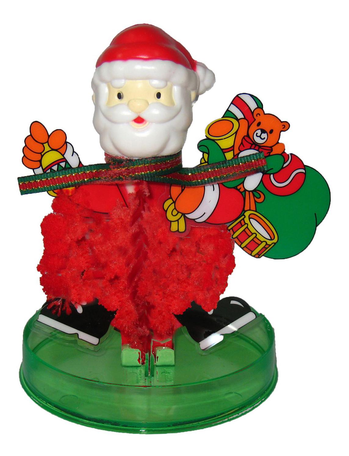 Купить Набор для выращивания кристаллов Bondibon Волшебный Дед Мороз, Наборы для выращивания кристаллов