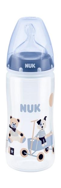 Бутылочка пластиковая 300 мл с силиконовой соской М р. 1 Nuk First Choice Plus