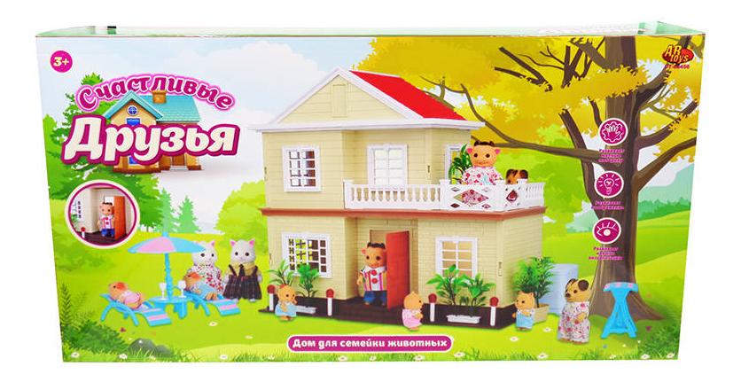 Домик Abtoys Счастливые друзья pt-00456