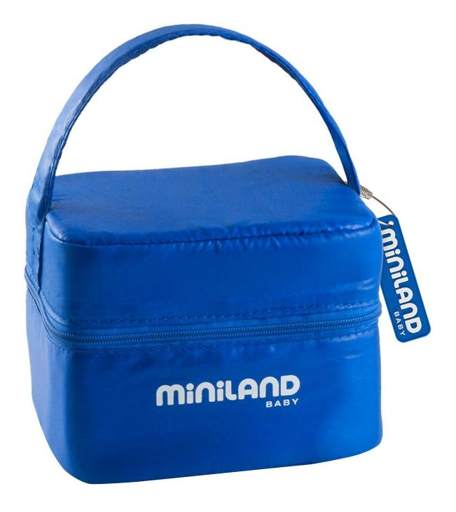 Купить Термосумка Miniland pack-2-go hermiffresh, синяя, Термосумки для детских бутылочек