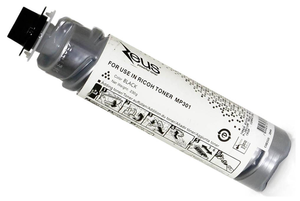 Картридж для лазерного принтера Ricoh MP 301, черный, оригинал фото