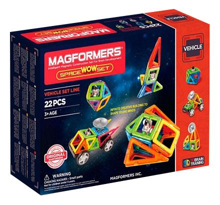 Купить Конструктор Magformers магнитный Space Wow 22 детали, Магнитные конструкторы