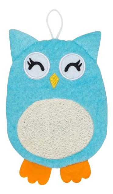 Мочалка-варежка детская ROXY-KIDS Baby Owl