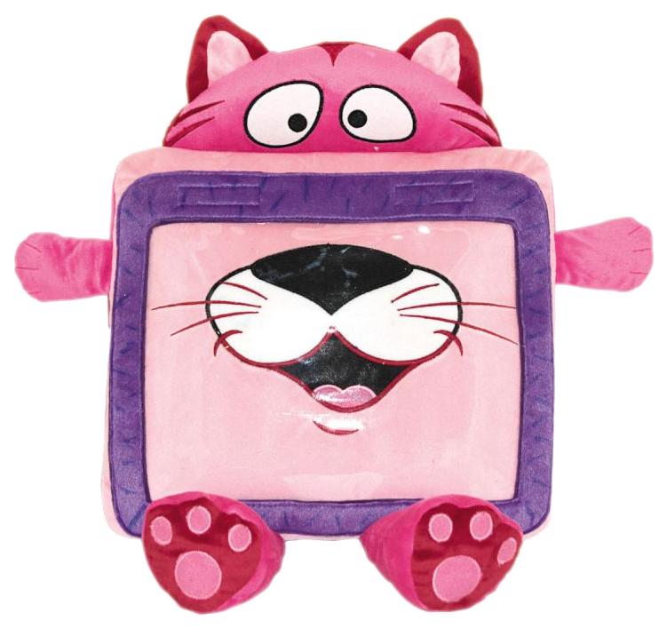 Купить Мягкая игрушка Gulliver Чехол-Игрушка Для Планшета Gulliver Кот, Мягкие игрушки животные