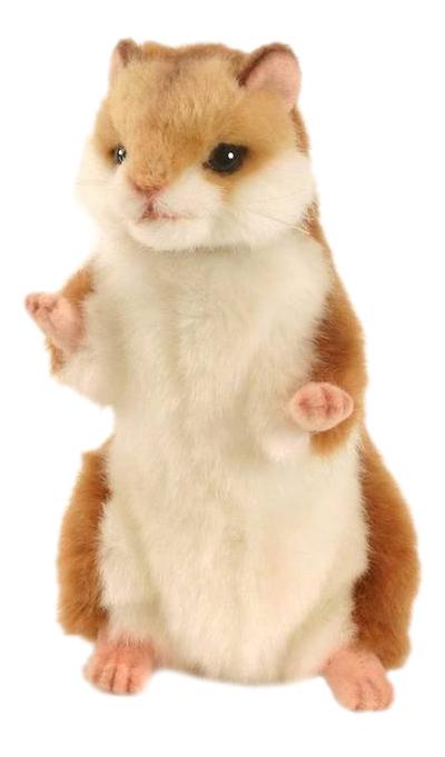 Купить Мягкая игрушка Hansa Хомячок Стоящий 15 см, Мягкие игрушки животные
