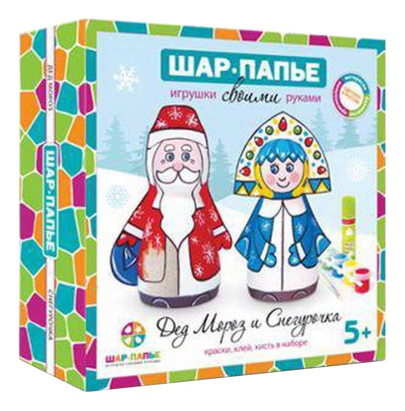 Игровой набор Шар-папье Дед Мороз и Снегурочка