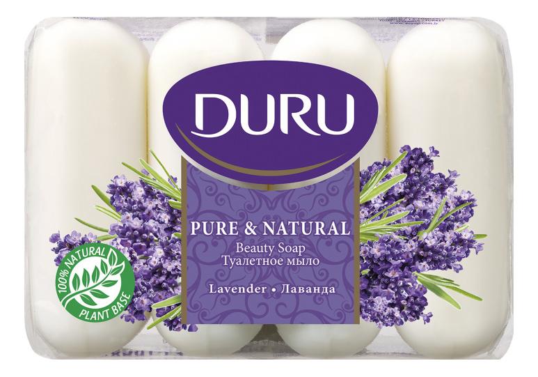 Косметическое мыло Duru Лаванда эпак 4х85 г