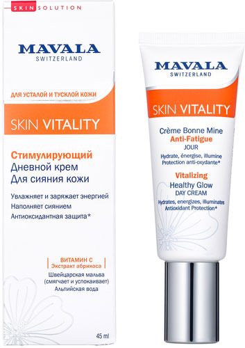 Стимулирующий дневной крем MAVALA Skin Vitality, 45 мл