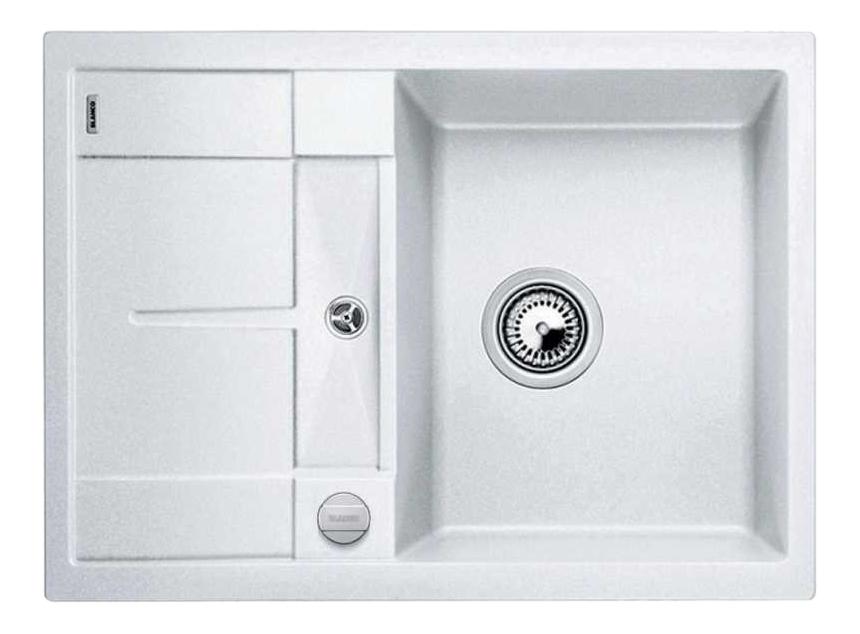 Мойка для кухни гранитная Blanco METRA 45 S Compact 519576 белый