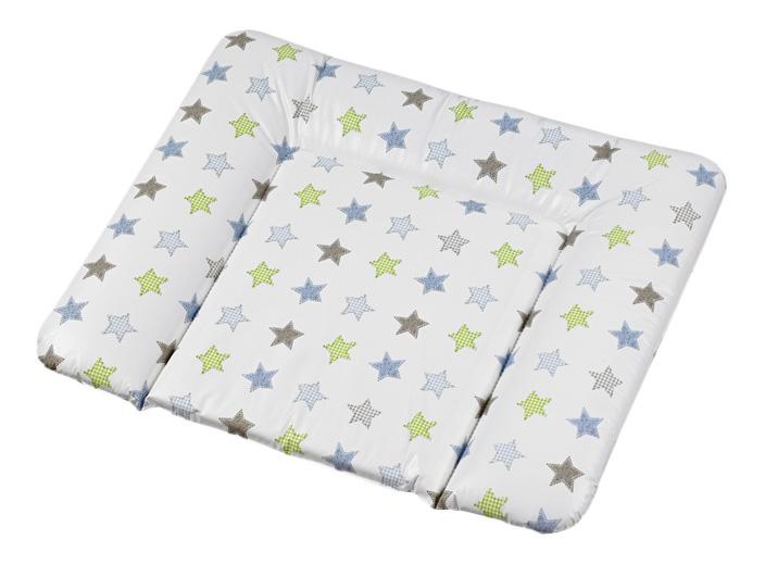 Накладка для пеленания Geuther белая со звездами 5835032