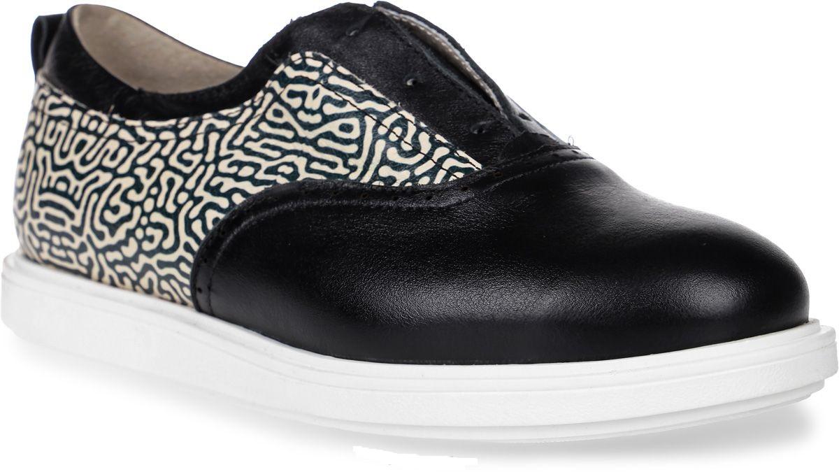 Купить Полуботинки детские 24007 р.32 кожа, чечетка черный, Tapiboo, Детские ботинки
