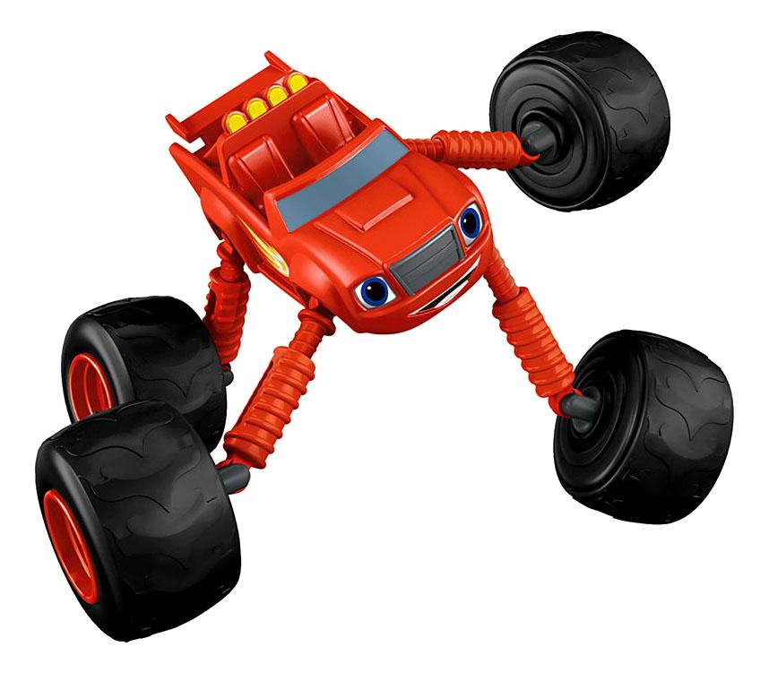 Машинка пластиковая Mattel Blaze Monster Machines Monster Morpher Blaze фото