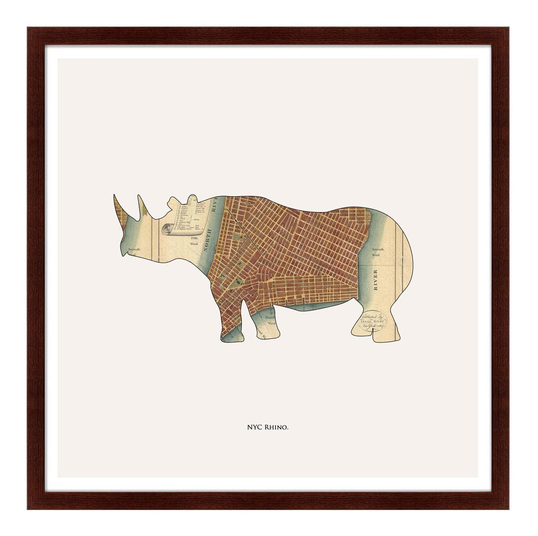 Картина Картины в Квартиру Rhino 79 х 79 см rhino 79 х 79 см по цене 11 999