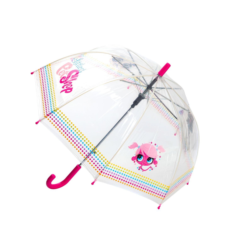 Детский зонтик Littlest Pet Shop Прозрачный