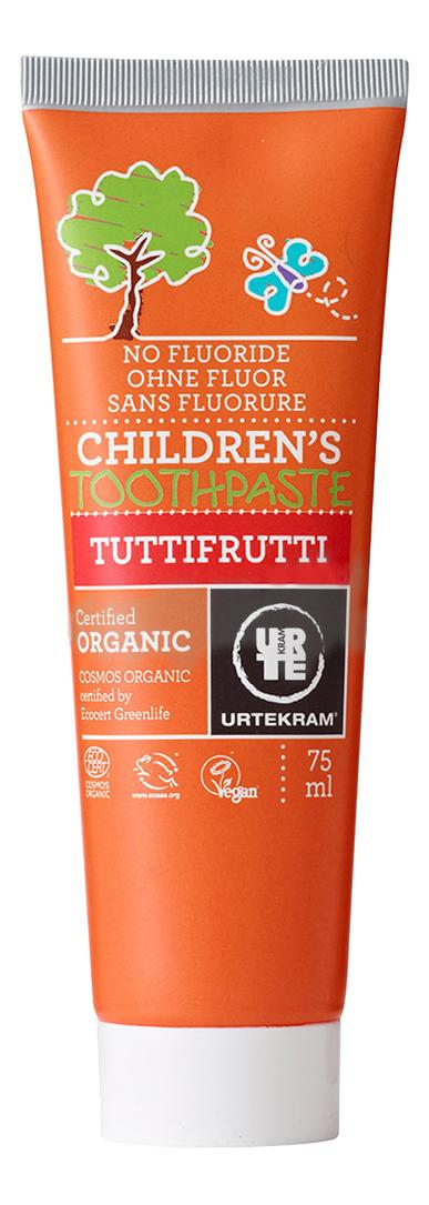 Купить Детская зубная паста Urtekram Фруктовая 75 мл, Детские зубные пасты