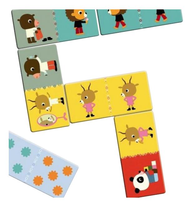 Семейная настольная игра Djeco Друзья 8118, Семейные настольные игры  - купить со скидкой