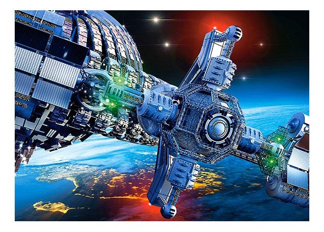 Космический корабль, Castorland Пазл Кастор 260 космический корабль В-27408, 260 элементов, Пазлы  - купить со скидкой