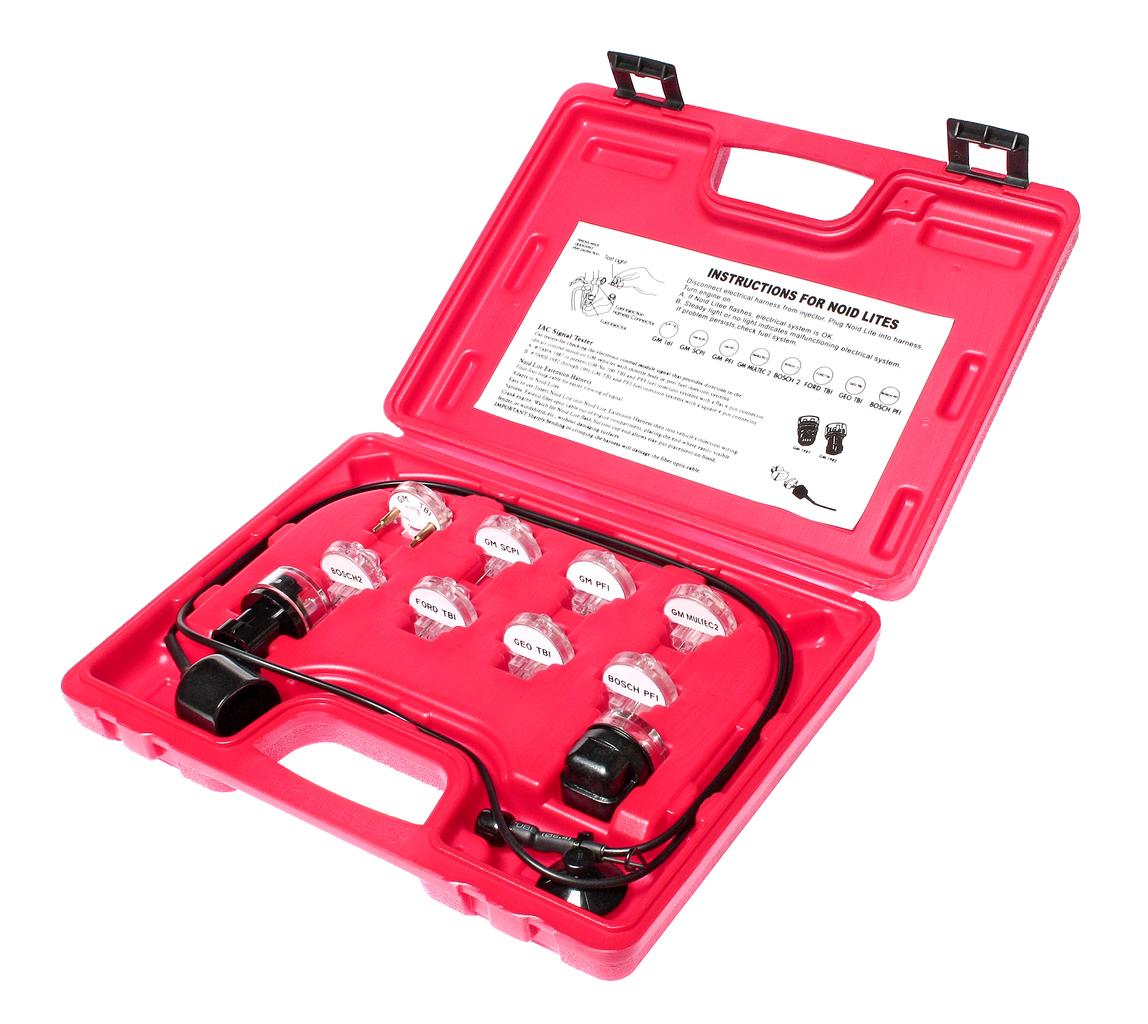 Набор индикаторов, адаптеров для проверки сигналов электронных