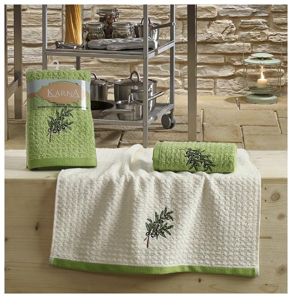 Кухонное полотенце KARNA Lemon 2230/CHAR003 Зеленый