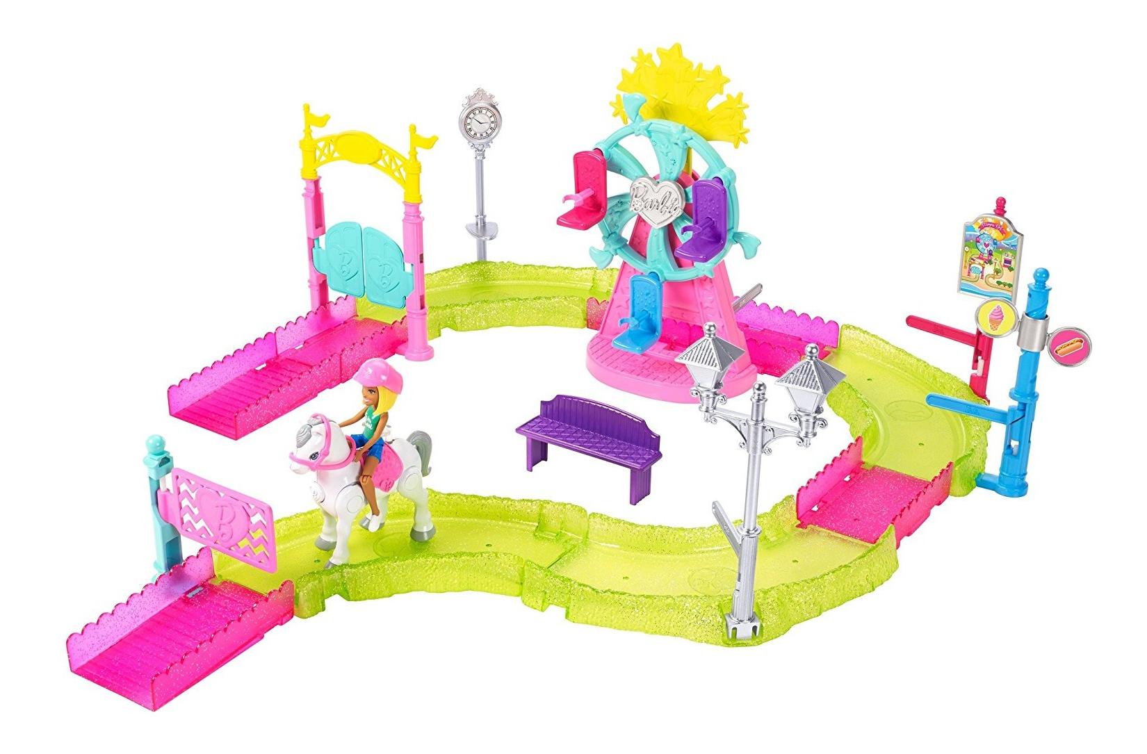 Набор в движении Парк развлечений и мини-кукла Barbie фото