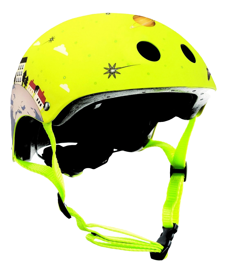 Купить Шлем Globber Printed Junior XS/S зеленый,