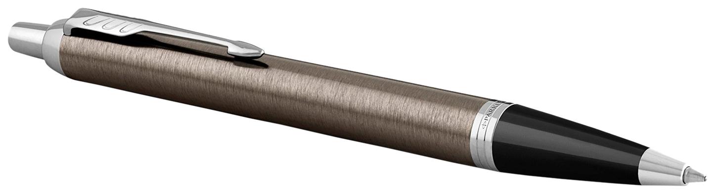 Ручка шариковая Parker IM Core K321 Dark Espresso CT, M, 1931671 Синий