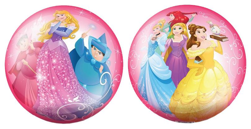 Купить Мячик детский ЯиГрушка Принцессы 23 см розовый 82303, Детские мячи