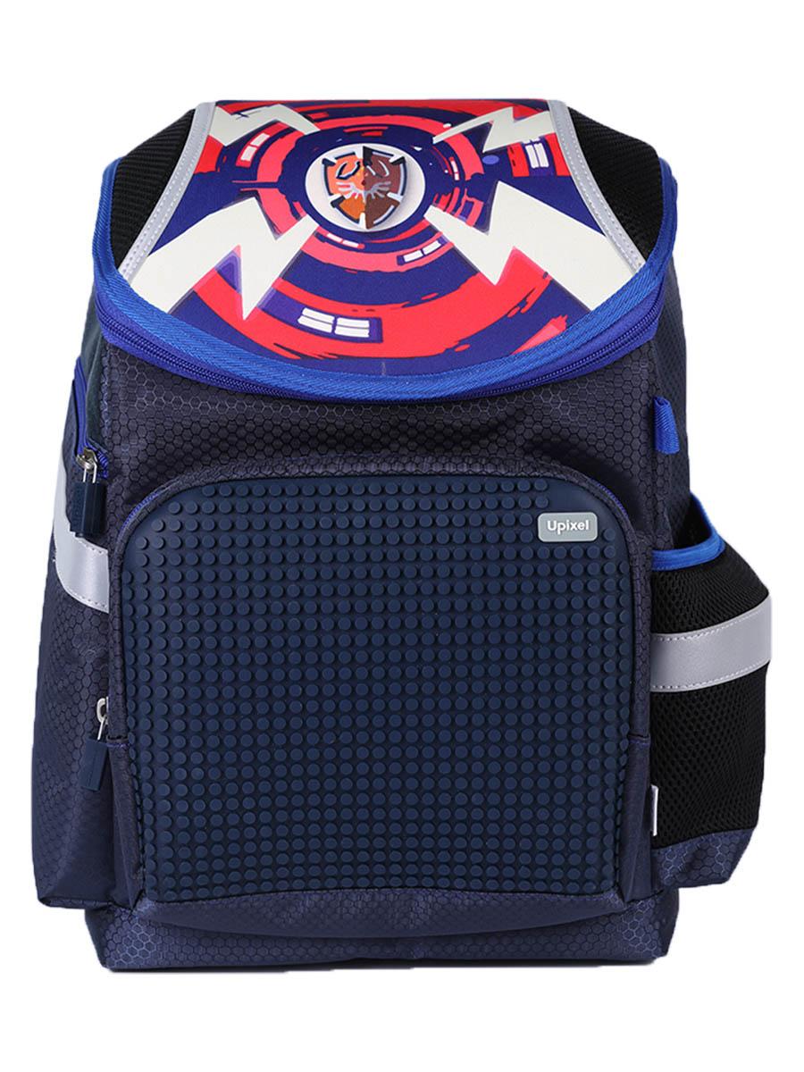 Школьный рюкзак A-019 Super Class темно-синий