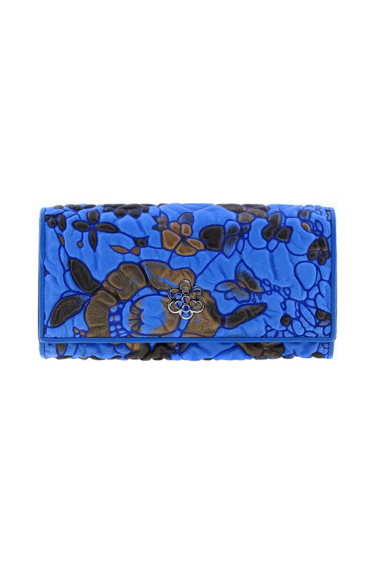 Кошелек женский Fiora More 9111-09D синий фото