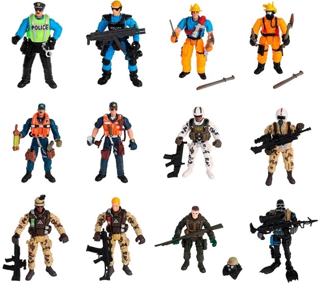 Купить Фигурки солдатиков Soldier Force набор 12 шт. Chap Mei 545004, Игровые фигурки