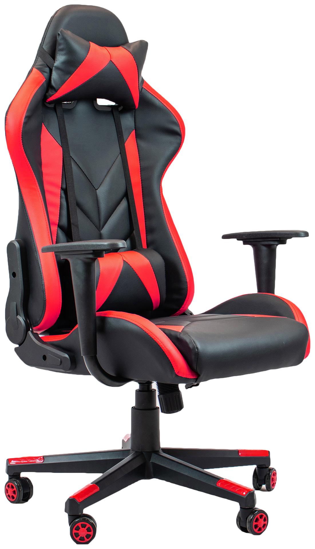 Игровое кресло Raybe K-5903, красный/черный