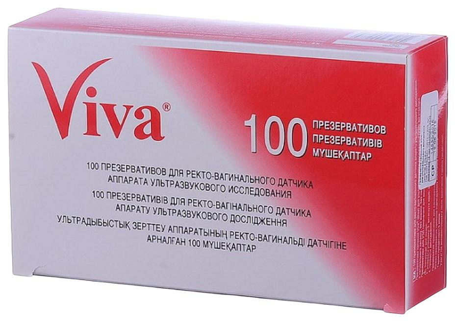 Презервативы Вива для узи N100