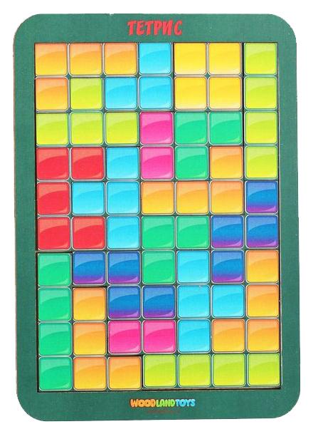 Купить Тетрис малый Цветная мозаика Woodland (Сибирский сувенир), Развивающие игрушки