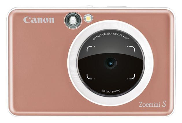 Фотоаппарат моментальной печати Canon Zoemini S Rose