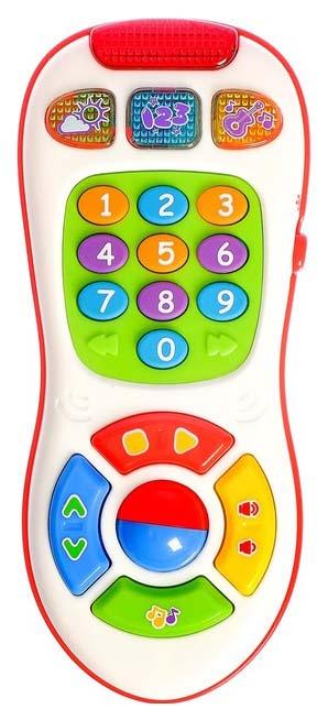 Музыкальный обучающий пульт Умняга Play Smart, ВОХ 12, 5х5, 6х21, 2 см, 2 вида, арт.7390., PLAYSMART, Интерактивные развивающие игрушки  - купить со скидкой