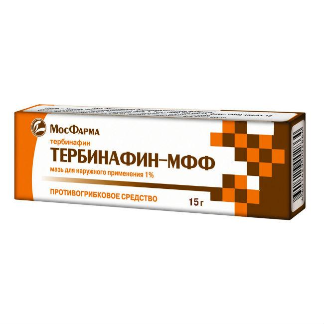 Тербинафин мазь 1% 15 г
