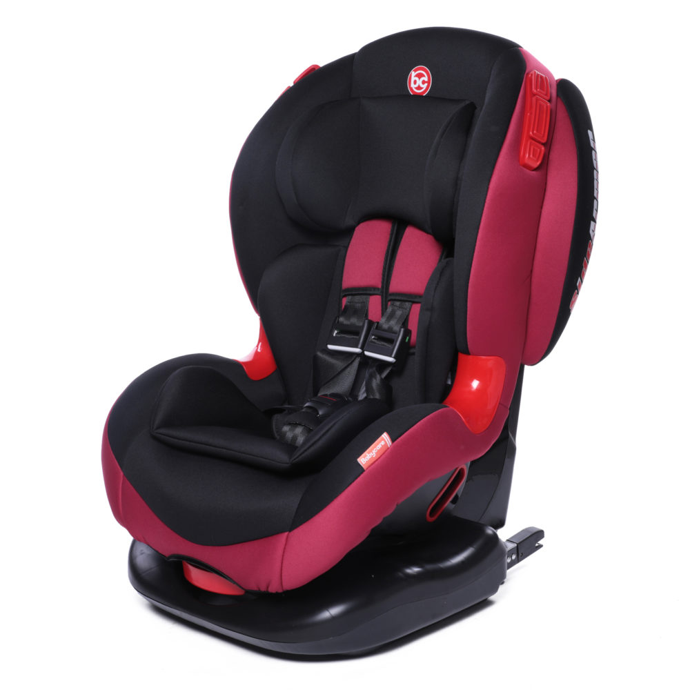 Купить Автокресло Baby Care Bc-120 Isofix цв.бордовый гр.1/2,