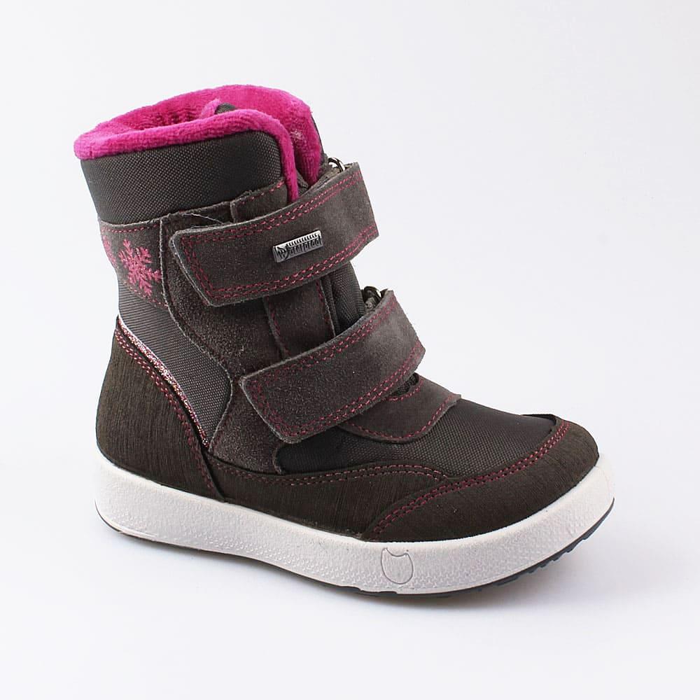 Мембранная обувь для девочек Котофей, 27 р-р