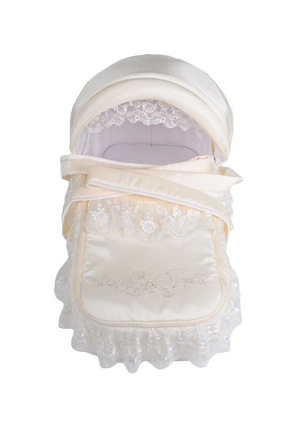 ЛЕО Люлька-переноска для коляски ВОСТОЧНАЯ СКАЗКА Молочный