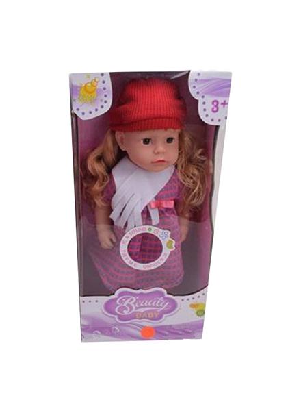 Купить Кукла в красной шапочке, 45 см, арт. LF863, Наша игрушка, Классические куклы