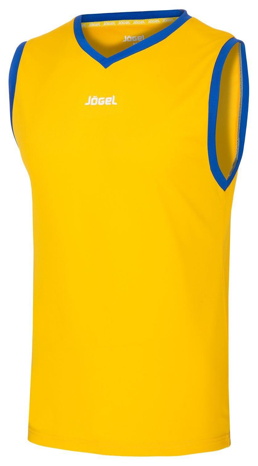 Майка баскетбольная JBT 1020 047, желтый/синий, детская