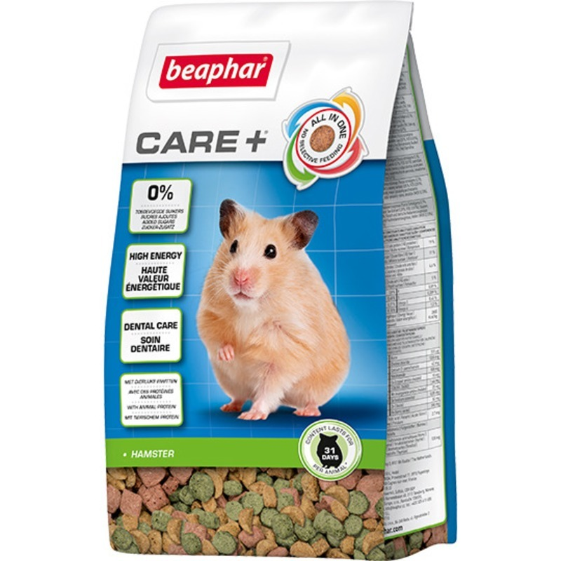 Корм для хомяков Beaphar Care +, 0,25 кг