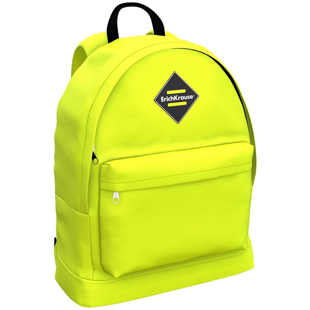 Рюкзак детский ErichKrause EasyLine 17L Neon Yellow