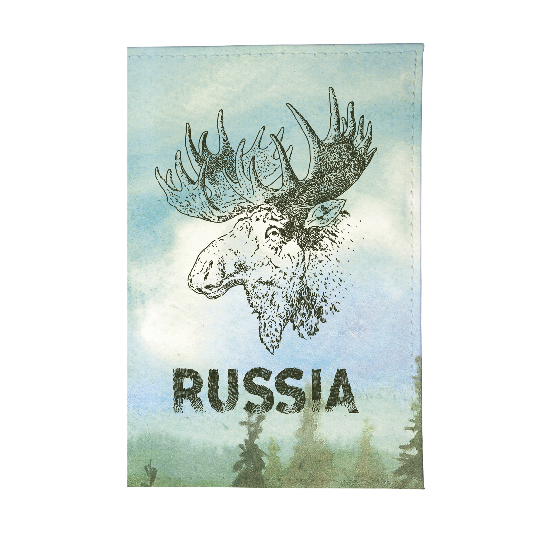 Визитница Mitya Veselkov Лось VIZAM223
