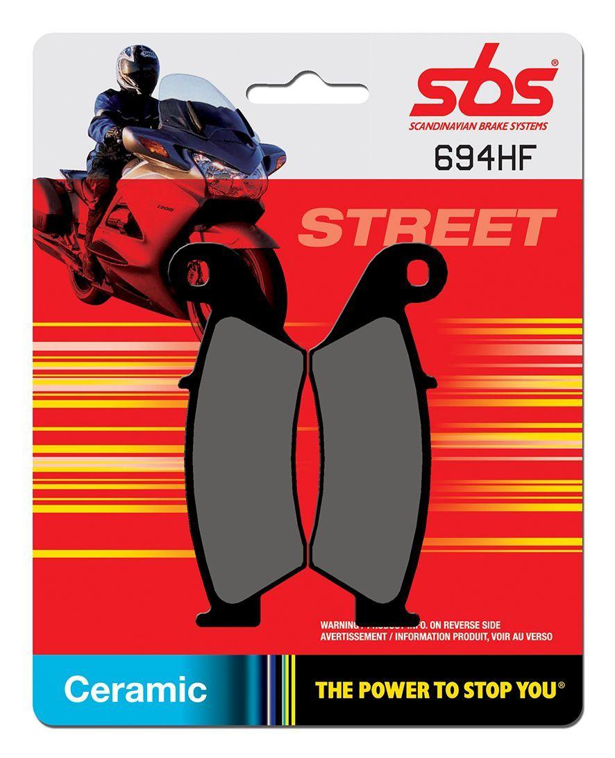 Тормозные колодки передние SBS 694HF для мотоциклов
