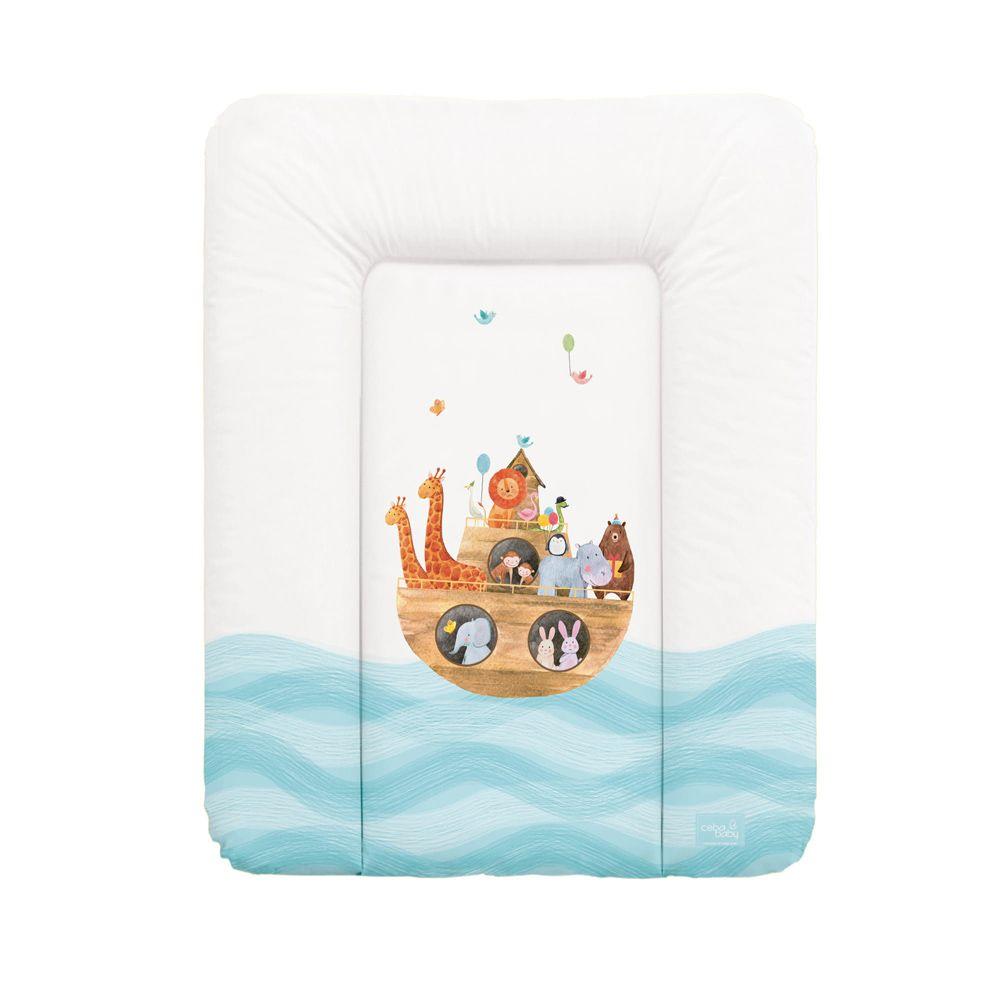 Матрас пеленальный Ceba Baby Ark 70x50 см мягкий на комод W-143-102-100