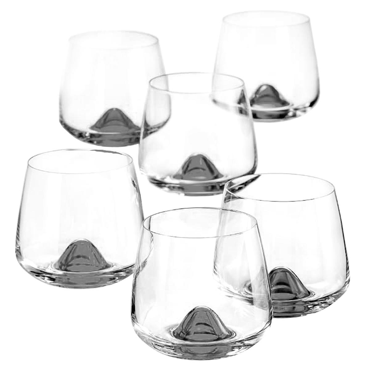 Набор стаканов Crystal BOHEMIA islands 310