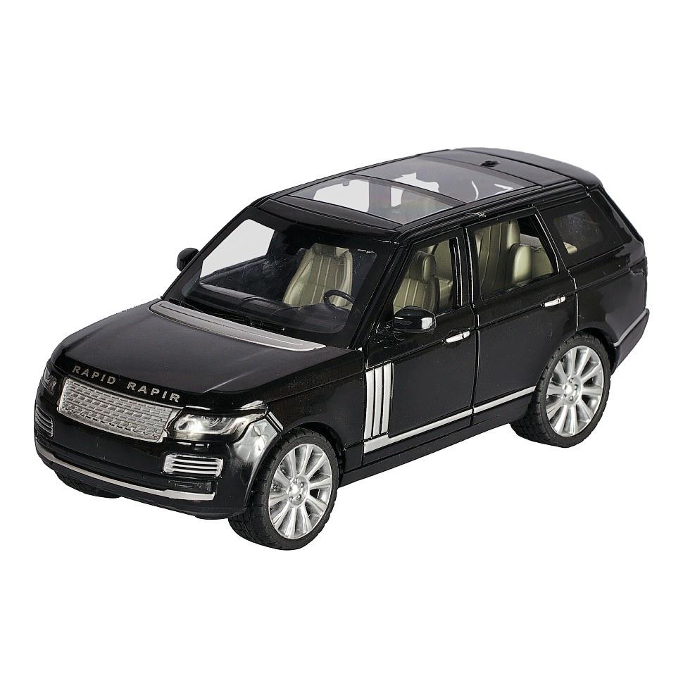 Купить Коллекционная модель машины джип ROV инерционная 18см, цв. черная, Shantou Gepai, Игрушечные машинки