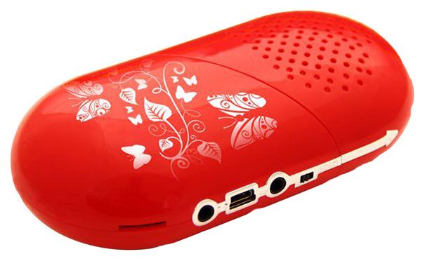 Беспроводная акустика Ritmix SP 333 Red