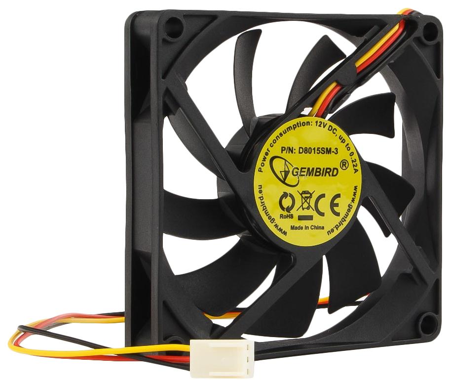 Корпусной вентилятор Gembird D8015SM 3